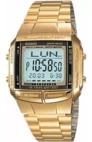 Relógio Casio Data Bank Dourado Db-360 Original