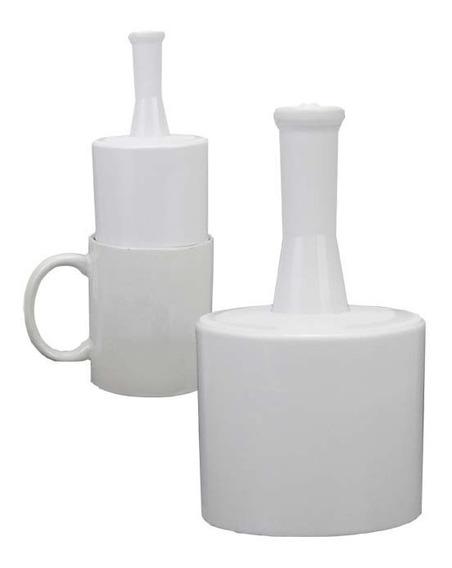 Suporte Plástico Culote P/ Caneca De Sublimação