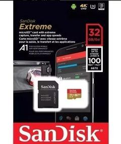 Cartões De Memória Sandisk Extreme Original 4k Microsd 32 Gb
