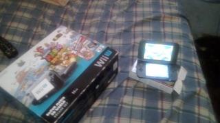 Paquete Wii U + Nwe Nd3s Xl Con Juego Zelda Breach