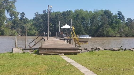 Casa En El Delta Sobre Río Luján 62 Sobre Lote De