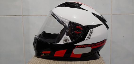 Capacete Speed And Strength Importado Novo N56
