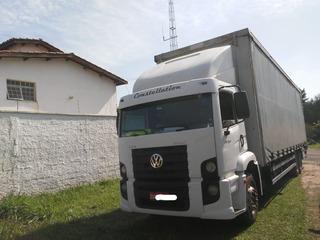 Vw 24250 Constellation Truck Bau Sider 11m