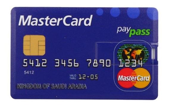 Multi Cor Compacto Cartão De Crédito Usb Flash Usb 2.0 Fla