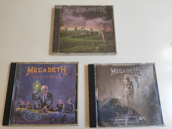 Lote Megadeth / Rust In Peace + Countdown + Youthanasia