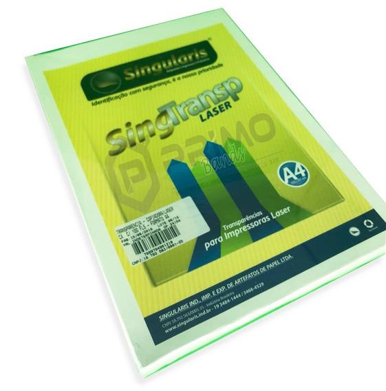 Transparência Laser Tamanho A4 - 200 Folhas
