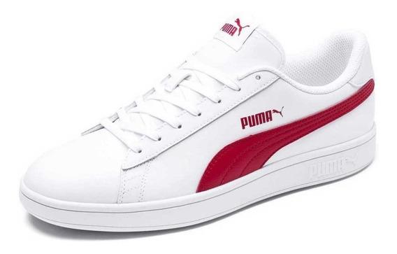 Tênis Puma Smash V2 Couro Original Unissex - Promoção