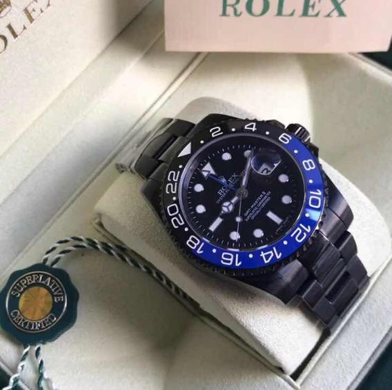 Relógio G.m.t. Master Ii,automático,acabamento Premium