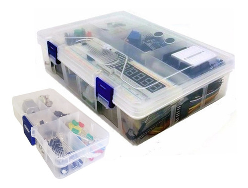 Imagen 1 de 2 de Kit Arduino Uno Pro Ultimate