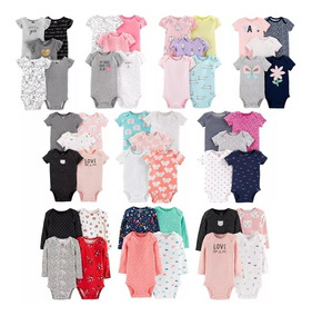 Body Carters Kit Body Manga Longa E Curta Bebe Inverno Verao