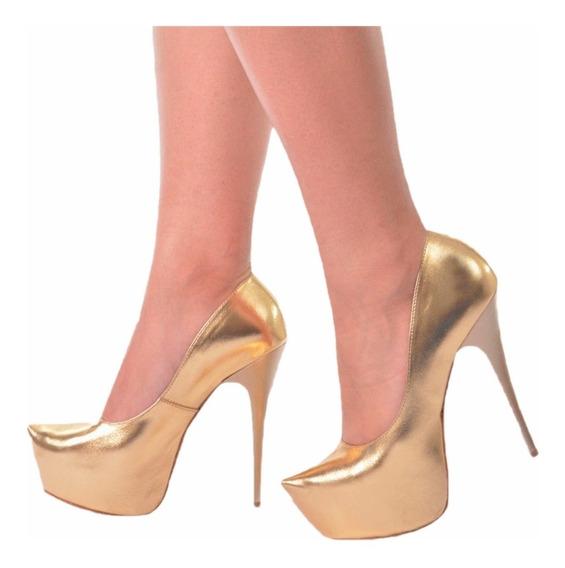 Lindo Sapato Feminino Salto Alto - Estilo Importado M51