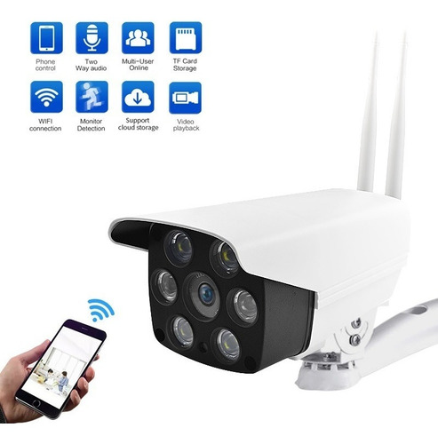 Camara Ip Exterior Inalamabrica Wifi 1080 Hd Ml9439