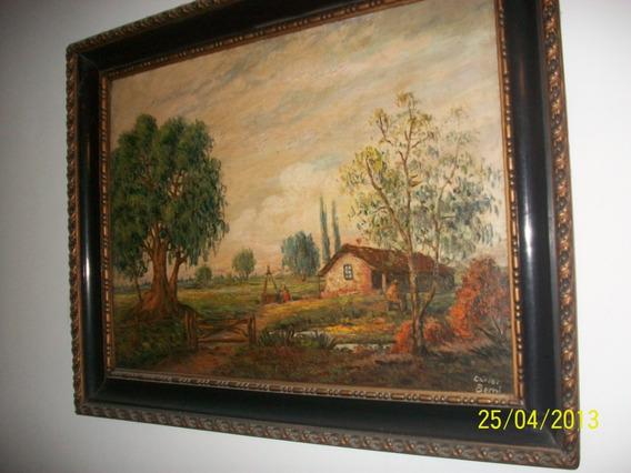 Cuadro Pintura Al Oleo Original--carlos Berni--