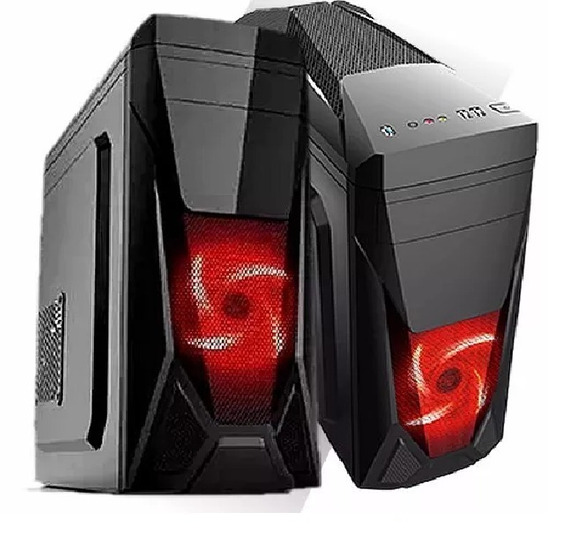 Pc/cpu Core2duo 4gb Memoria Hd 80 Gb Gabinete Novo