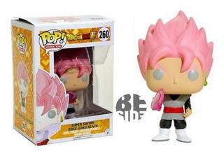 Funko Pop Dbz Black Goku Rose #260 (bootleg)