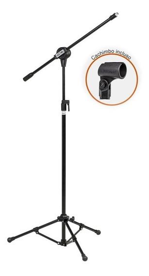 Pedestal Microfone Profissional C/ Cachimbo Promoção
