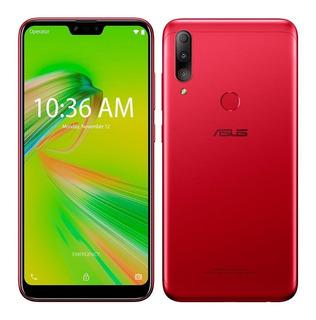 Smartphone Zenfone Max Shot Vermelho, Dual Chip, Tela 6,2