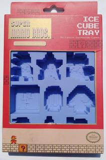 Super Mario Bros Ice Cub Tray Hielos $325 Nuevo Sopormike