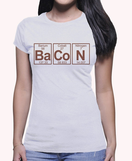 Camiseta Amo Bacon Breaking Bad Series Geek Engraçada 1009