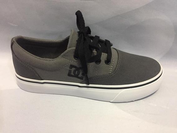 Tênis Dc Shoes New Flash Evo 2 Tx Cinza 11263 Original