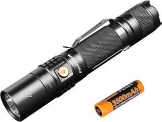 Lanterna Tática Fenix Uc35 V2.0 + Bateria 3500 Mah 1000 Lum.