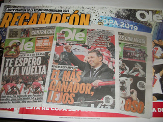 River - Campeon Recopa Sudamericana 2019