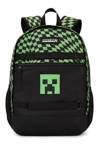 Mochila Minecraft Modelo Ft