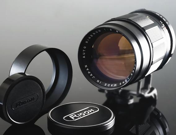Lente Ricoh 135mm F2.8- Rosca M42 - Sony-canon- Micro4\3