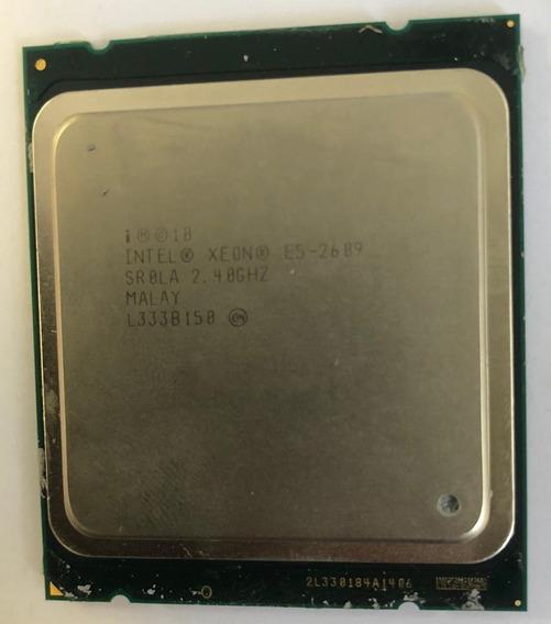 Processador Intel Xeon E5-2609 4core 2.40ghz Lga2011 X3550m4