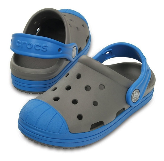 Crocs Niños Bump It Clog K Smoke -ocean