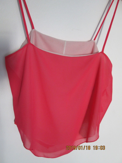 Top Fucsia Viscos Talle 2