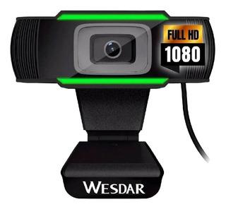 Camara Web Webcam Usb Pc Hd 1080p Mic Plug & Play Skype Zoom