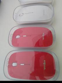 Mouse Óptico Sem Fio Wireless Usb 2.4ghz Weibo Surper Fino
