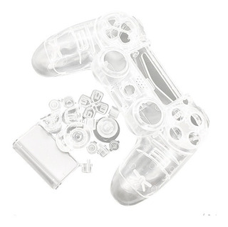 Playstation 4 Dualshock 4 Carcasa Transparente Control