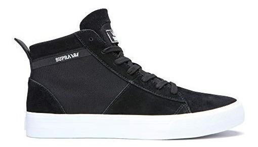 Supra Stacks Mid Zapatillas Para Hombre Color Negro