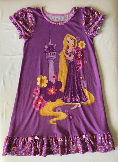 Disney. Camison Niña. Rapunzel. Talle 7/8 (con Detalle)