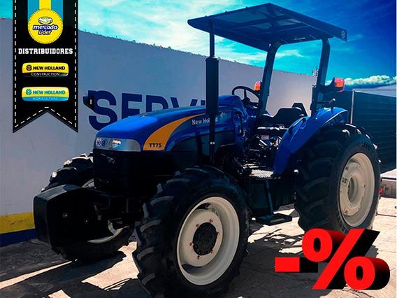 Tractor New Holland Tt75e Fwd