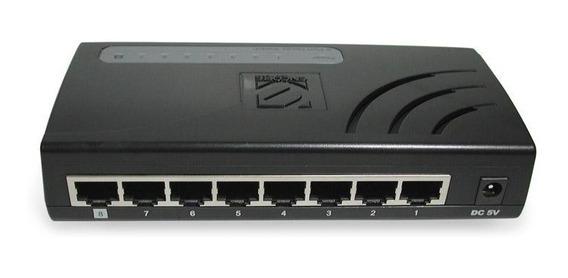 Switch Encore Enh908-nwy - 8 Puertos Usado