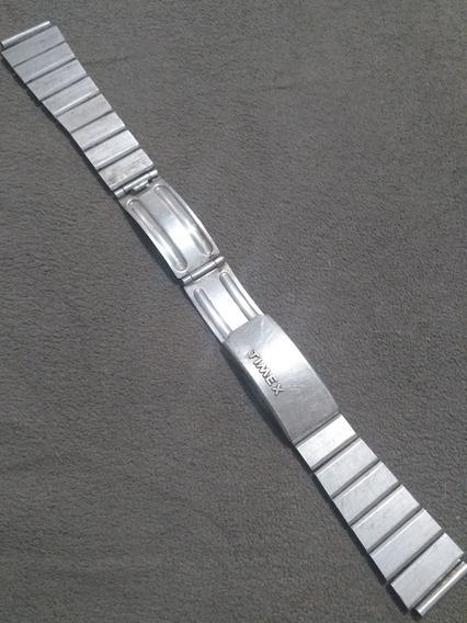 Pulseira Relogio Masculino Timex Aço Escovado