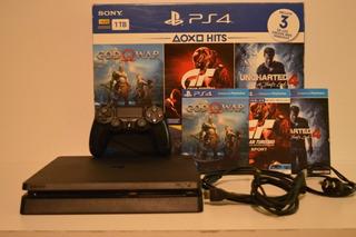 Playstation 4 Ps4 Como Nueva Con 11 Juegos Y 1 Joystick
