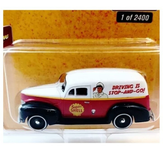 1940 Ford Delivery Van Shell Johnny Lightning Sa17
