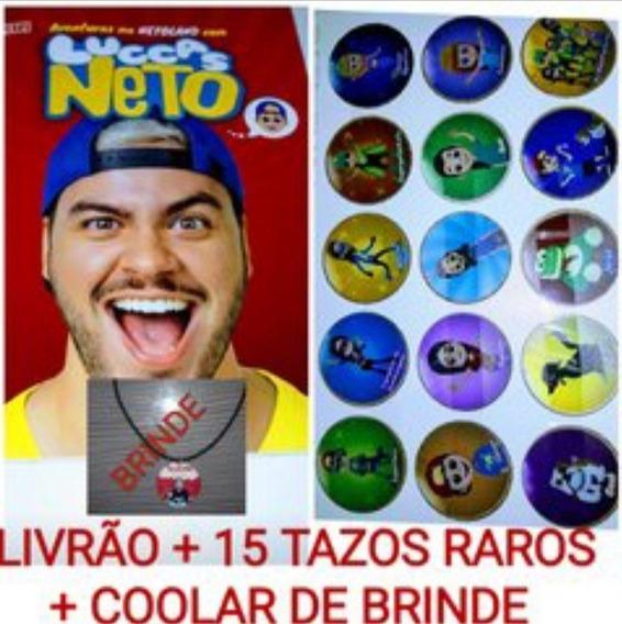 Livro + Coleção Completa Tazos Raros + Brinde