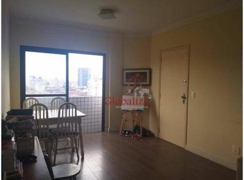 Imagem 1 de 23 de Apartamento Com 2 Dormitórios À Venda, 92 M² Por R$ 450.000,00 - Boqueirão - Santos/sp - Ap0391