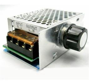 Dimmer Regulador De Tensao Controle Velocidade 4000w Src