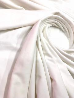 Tela De Lycra Unicolor Blanco Extra Grueso Sublimación