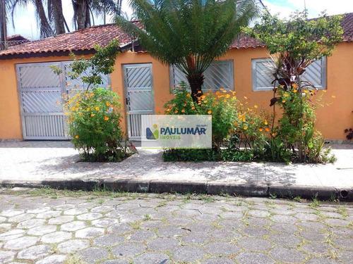Casa Com 4 Dorms, Agenor De Campos, Mongaguá - R$ 350.000,00, Codigo: 827779 - V827779