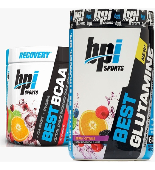 Best Bcaa + Glutamina Bpi Sports Recuperacion Muscular Total