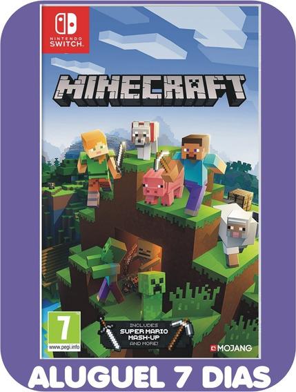 Minecraft - Nintendo Switch *locação 7 Dias*