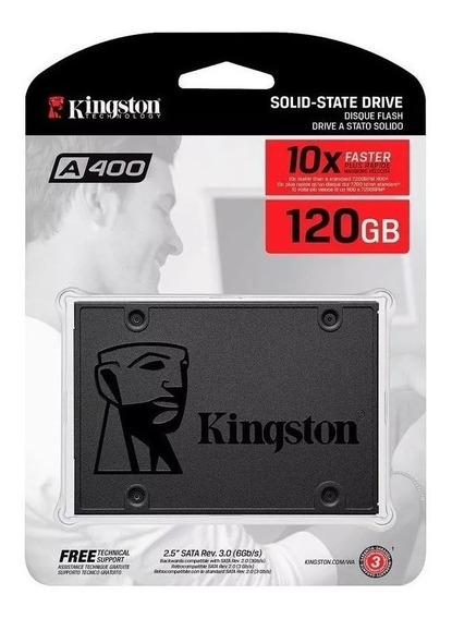 Disco Solido Ssd 2.5 120gb Kingston A400