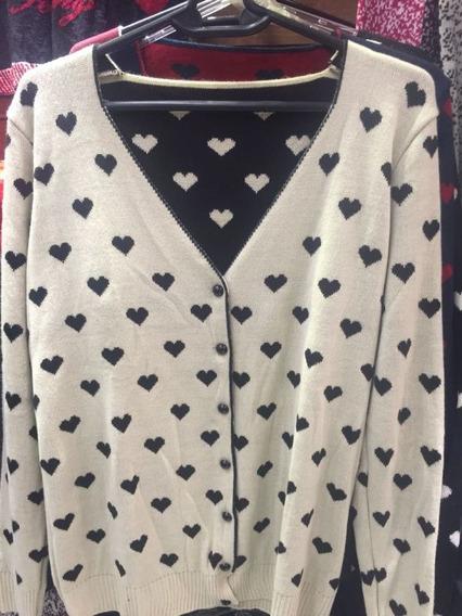 Kit 5 Cardigan Blusa Casaco Lã Feminino Renda Trico Revenda
